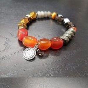Multi-stone Silpada stretch bracelet